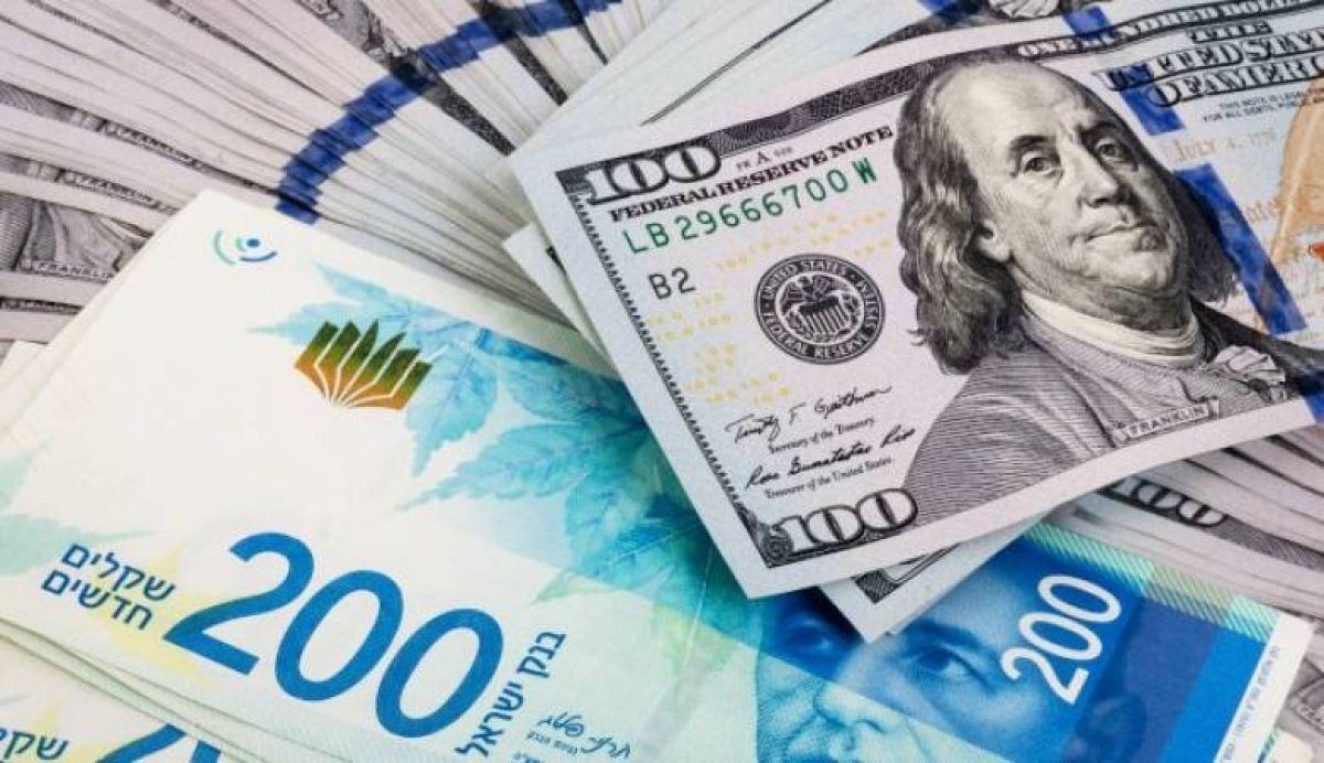 انخفاض سعر الدولار مقابل الشيكل اليوم الخميس
