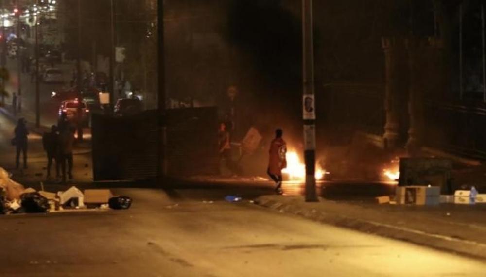 مواجهات عنيفة واعتقالات خلال اقتحام مناطق متفرقة برام الله