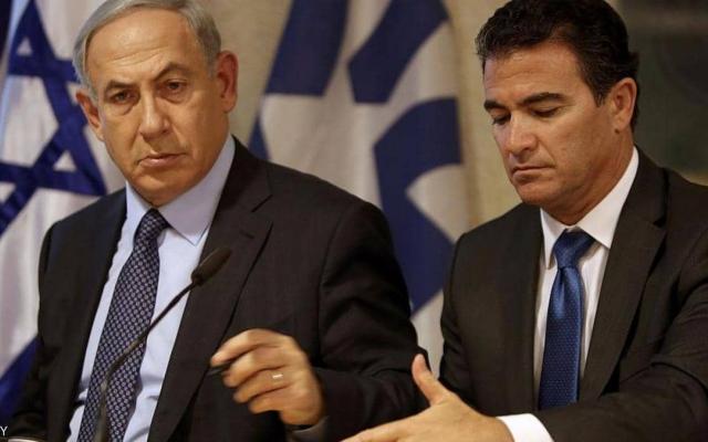 رئيس الموساد الإسرائيلي ومسؤول عسكري زارا قطر سرًا
