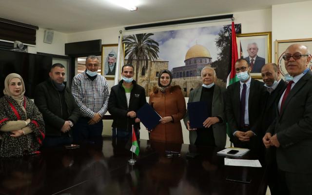 المجلس الأعلى للإبداع والتميز يوقع اتفاقيتي احتضان لمشروعين إبداعيين