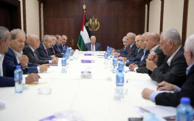 عباس باجتماع اللجنة التنفيذية: مضطرون للتحلل من الالتزامات مع الأطراف المعنية