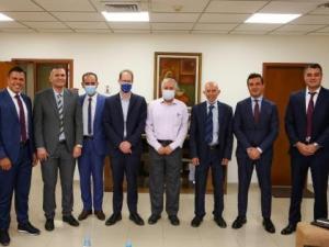 بنك فلسطين يستقبل مدير عام الوكالة الفرنسية للتنمية