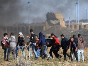 استشهاد فلسطيني شرق مخيم البريج برصاص الجيش الإسرائيلي