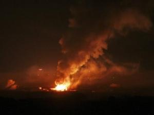 قصف اسرائيلي على غزة
