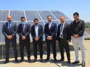بدعم من جوال:  بلدية المصدر تفتتح مشروع الطاقة الشمسية