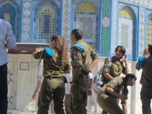 جنود الاحتلال اقتحامات الأقصى