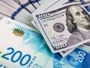 سعر صرف الدولار الأمريكي مقابل الشيقل