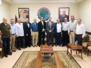 بنك القدس وجمعية رجال الفلسطينين في غزة يبحثان سُبل التعاون