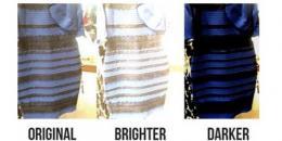 حل لغز الفستان