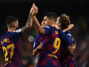 برشلونة يقسو على فالنسيا بخماسية